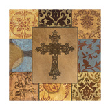 Patchwork Cross II Giclee Print by Todd Williams