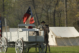 Confederate Camp Reenactment, Shiloh National Military Park, Tennessee Photographic Print