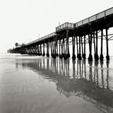 Pier Pilings 21 Photographic Print by Lee Peterson