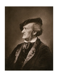Portrait of Composer Richard Wagner Giclee Print