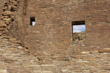 Ruins of Pueblo Bonito, an Anasazi/Ancestral Puebloan Site in Chaco Canyon, New Mexico Photographic Print