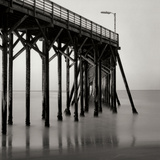 Pier Pilings 20 Photographic Print by Lee Peterson