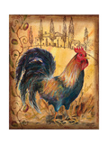 Tuscan Rooster I Giclee Print by Todd Williams