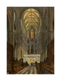 Westminster Abbey, Seen from the Choir Giclee Print