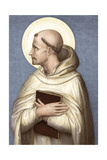 Saint Bernard of Clairvaux Giclee Print