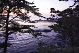 Carmel Highlands Sunset I Photographic Print by Alan Hausenflock