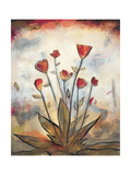 Poppy Garden I Giclee Print by Lucia Marque