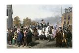 Triumphal Entrance of Washington's American Army into New York, November 25, 1783 Giclee Print