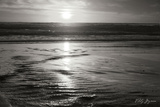Golden Sunset II B&W Photographic Print by Vitaly Geyman