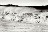 Carmel Waves II BW Photographic Print by Lee Peterson