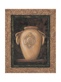 Ancient Pottery I Giclee Print by Linda Wacaster