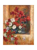 Flores de España I Premium Giclee Print by Linda Wacaster