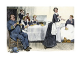 Servants Imitating the Lady of the House, circa 1900 Giclee Print