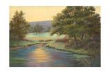 Emerald Meadow II Premium Giclee Print by Linda Wacaster