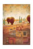 Quilted Landscape I Prints by Susan Osborne