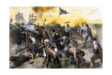 American Defense of Fort Moultrie on Sullivan's Island, Charleston Sc, 1776 Giclee Print