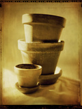 Terracotta Pots II Photographic Print by Bob Stefko