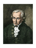 Portrait of Immanuel Kant Giclee Print