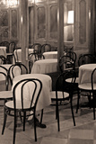 Cafe Chairs I Photographic Print by Rita Crane
