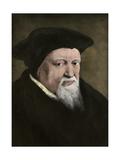 Swiss Religious Reformer Ulrich Zwingli Giclee Print