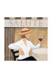Salute I Prints by Valerie Sjodin