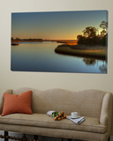 Apalachicola March Sunset Prints by Rene Griffith