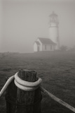 Misty Lighthouse I Photographic Print by Vitaly Geyman