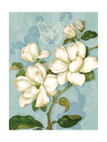 Magnolias Giclee Print by Pamela Gladding