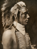 A Crow Boy in Dance Costume, 1905 Photographic Print