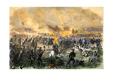 Union and Confederate Armies Clash at the First Battle of Bull Run, 1861 Giclee Print