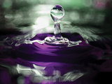 Grape Drink Drop II Photographic Print by Tammy Putman