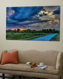 Afternoon at the Wetlands Print by Rene Griffith