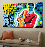 Music Go Print by Ray Lengele