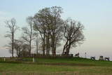 Location of Pickett's Charge Against the Union Position on Cemetery Ridge, Gettysburg, PA Photographic Print