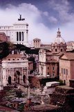 The Forum I Photographic Print by John Warren