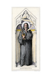 Benedict of Nursia, Founder of Benedictine Monasteries Giclee Print