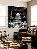 Washington Posters by  Top Creation