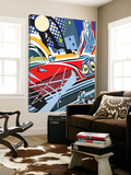 City Car Print by Ray Lengele