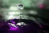 Grape Drink Drop III Photographic Print by Tammy Putman