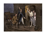 Ethan Allen and the Green Mountain Boys Taking Fort Ticonderoga from the British, 1775 Giclee Print