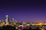 Seattle Skyline II Photographic Print by Bob Stefko