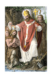 Boniface, Medieval English Missionary to Germany Giclee Print