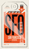 San Francisco Serigraph by Mike Klay