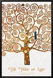 The Tree of Life Pastiche Marzipan Oprawiona reprodukcja na płótnie autor Gustav Klimt