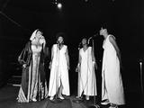 Aretha Franklin Fotografisk tryk af Moneta Sleet Jr.
