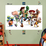 Toy Story Cast Mural Wall Decal