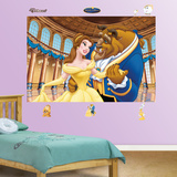 Beauty and the Beast Mural Wall Decal
