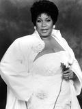 Aretha Franklin Fotografisk tryk af Vandell Cobb