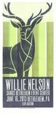 Willie Nelson Serigrafi af Print Mafia