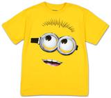 Dzieci i młodzież: Minionki rozrabiają - Wielka głowa T-shirty